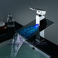 the mixer waterfall in the bathroom water tap basin faucet free shipping LD8005-03A