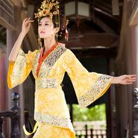 LOT2  hot Female costume tang suit hanfu costume cosplay women train costumes
