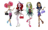 Hot sale!Girl gift Original Monster High toralei dolls Dance class gift Robecca steam freeshipping Y0430   Free Shipping