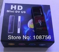 Free shipping High Quality Mini DV U9 USB Flash Drive U Disk HD Hidden Camera Motion Detection with retail box with 1pcs
