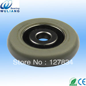 Guide Pulley with Bearings Plastic Wheels PU Pulley