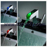 Free shipping Faucet Basin &Kitchen Sink Swivel and Pull Out Spray Mixer Tap LD8005-08A
