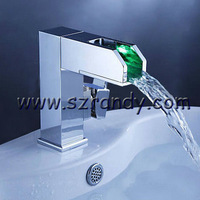 Vessel Sink Faucet Basin Kitchen Bathroom Pull Down Mixer Tap LD8005-08A