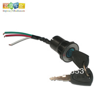 Electric bicycle high quality  lock power lock power switch free shipping MX07
