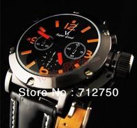 Sale Promotion Vogue V6 Leather Quartz Watch Men Relogio Luxury Fashion Wristwatch Free Shipping