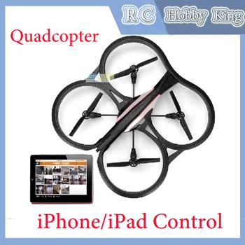 Hot Parrot AR.Drone2.0 Super Model Quadcopter Remote Control iPhone/iPad Control Build in DSP Camera Aluminum Case Drop shipping