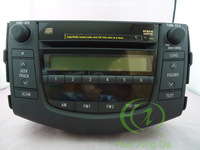 TOYOTA 86120-42170 Fujitsu Ten 6 CD changer for RAV4 Factory OEM car RECEIVER radio MP3 WMA AUX US version 2006-2011