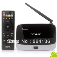 Free shipping Jesurun DX05 Quad core RK3188 2G 8G TV BOX Mini pc set top box Android 4.2 rk3188 mk888 cs918 Google TV Player