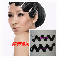 Good Wig costume wig cheongsam wig bun hadnd corrugated 1 bag 2