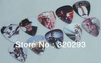 Lots of 100pcs Kid Rock 2-sides Color printing Guitar Picks