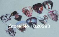Lots of 100pcs Kid Rock 2-sides Color printing Guitar Picks