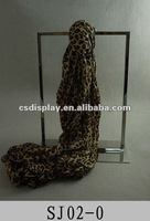 Hot sale Stainless steel Scarf display stand SJ02-00