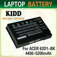 Notebook Battery BT.00803.007, BT.00805.002, BTP-63D1, BTP-AID1, BT.T2803.001 BTP-96H1 for Acer