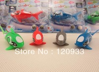2013 New Robot fish Activated Turbot electric shark Electronic Swimming Fish Magical Robo Free Shipping 500pcs/lot