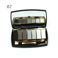 new small 7 colors eyeshadow kit designer make up set fashion eyeshadow kit 6pcs each lot