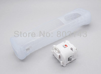 Free shipping 100pcs/lot for WII motion plus remote white/black