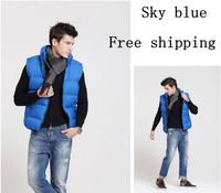 New Fashion Men Vest Down Vest Men's Large Size Men's Vest Free Shipping