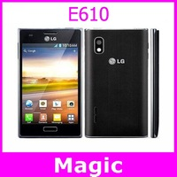 "E610 Original LG Optimus L5 E610 GPS WIFI 4.0"" 3G 5MP WIFI GPS Unlocked Mobile Phone 1 Year Warranty"