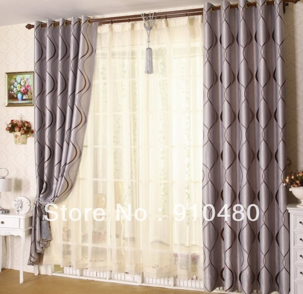 Grommet Curtain Panels Promotion-Online Shopping for Promotional ...
