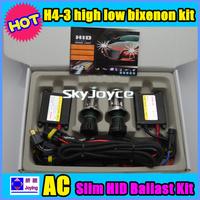 Factory price 55W HID Hi/lo Bixenon Kit H4-3 6000k  8000k