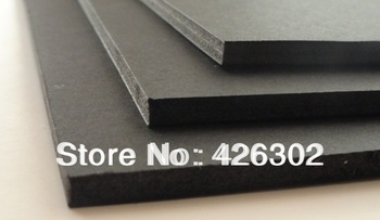 "Black foam board picture framing backing board 8x10""x 3/16""Black Foam Board 40pcs/box ,free shipping"