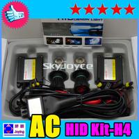 Factory price 55W HID Hi/lo Bixenon Kit H4-3 6000k  8000k  Dhl free shipping