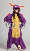 Kigurumi Pajamas All In One Pyjamas Animal Suits Cosplay Halloween Costumes Adult Garment Spyro Dragon Cartoon Animal Onesies