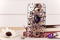 Bling Rhinestone Angel Tear Case Luxury DIY Diamond Handmade Crystal Back Cover for iphone5 phone cases