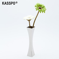 Home Hardware Accessories Stainless steel Fashion Single Dining Table Decoration Display Vase
