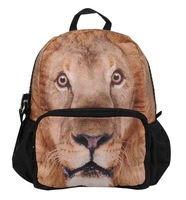 "New 12"" Kid Animal Lion Printing Backpack Bag,School Bags For Boy,BBP111S"