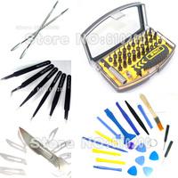 Freeshipping screwdriver set tools Dedicated Mobile phone teardown tools+ESD tweezers+ Phone Opening Tools kit  For repair tools