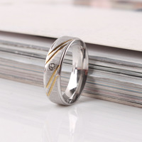 5pcs/lot 6mm Carving frosted rhinestone rings 316L Stainless Steel ring men women jewelry Free shipping wholesale lots