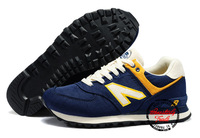 Free Shipping 4 Color N-574 Football Presidential Famous Brand Running athletic shoes for women&men with Best quality