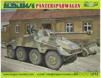 Dragon model 6772 1/35 Sd.Kfz.234/4 PANZERSPAHWAGEN plastic model kit