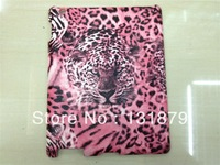 Free shipping Cute Tiger Hard Back Cover Case For Apple iPad2 ipad3 Unique Style Hot sale