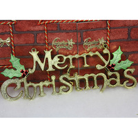 free shipping Christmas letter decoration christmas tree  wholesale