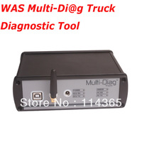 Top-Rated WAS Multi-Diag Multi Diag Diagnostic Tool Bluetooth Multi-Language Heavy Duty Multidiag Truck Scanner Heavy Duty Truck