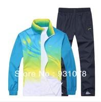 Free Shipping, 2013 NEW Li Ning, Spring and Autumn sportswear, suits, Fb09, leisure, men's, Woman sportswear