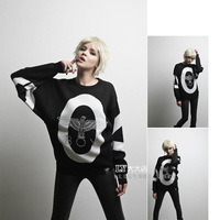 I.t 2013 autumn boy london eagle bigbang logo men and women sweater