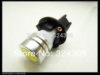 2014 NEW 100pcs/lot air car Instrument lamp T10 copper 18MM Max diameter T6.5 1W 1 led Dashboard Bulb Indoor License Plate Light