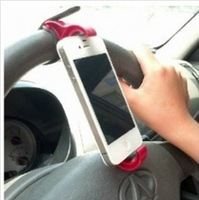Min Order $10 (mixed order) Multifunction steering wheel mobile navigation holder / car phone holder Free Shipping