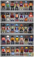 Free Shipping 10pcs Lot Playmobil Knights figures random castle child Toys