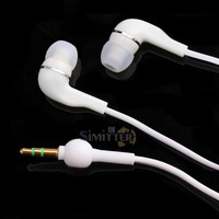 S1M# 3.5mm White In-Ear Headphones Earphones For iPod MP3 MP4 Mp5 Cell Phone New