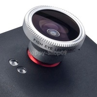 BU 180 Degree Fisheye Lens For Apple iPad iPhone 4 4S 4G Camera Laptop HTC Phone
