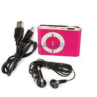 Clip Metal Mini USB MP3 Music Media Player Support 1GB 2GB 4GB 8GB TF Card V3NF