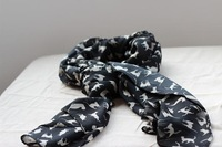 2012 autumn and winter scarf lengthen chiffon spring and autumn Women silk scarf