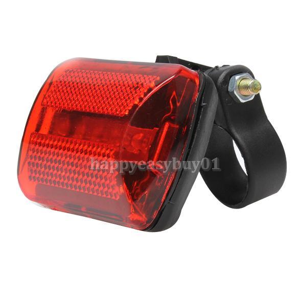 5 LED Rear Tail Red Bike Bicycle Back Light H1E1
