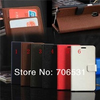 Wholesale 100Pcs/Lot, DHL Free Shipping, For Samsung Galaxy Note 3 N9000 Stand Wallet Leather Case