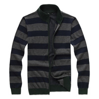 Free shipping 2013 new fashion men's sweaters, men's fashion zipper cardigan sweater sweater casual sweater