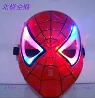 free shipping macka Colorful lights   supplies  mask halloween mascara masquerade disguise carnival costume maska maske masks
